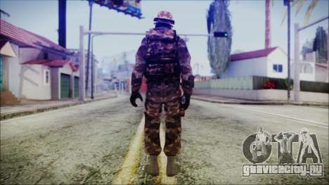 Chinese Army Desert Camo 2 для GTA San Andreas третий скриншот