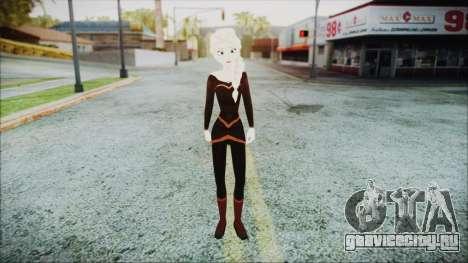 Elsa Black Outfit для GTA San Andreas второй скриншот