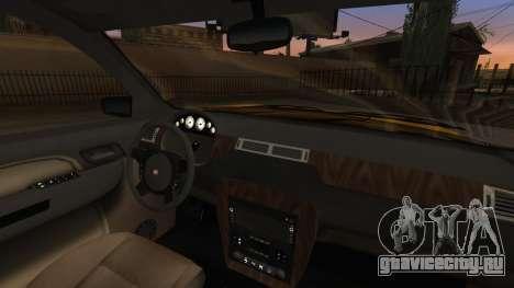 GTA 5 Declasse Granger IVF для GTA San Andreas вид сверху