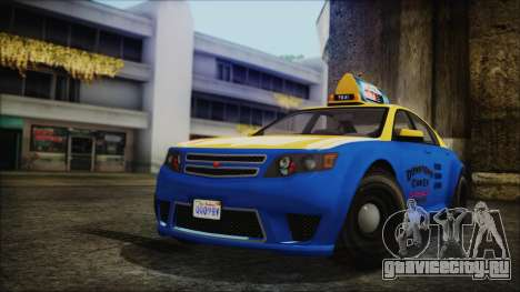 Cheval Fugitive Downtown Cab Co. Taxi для GTA San Andreas