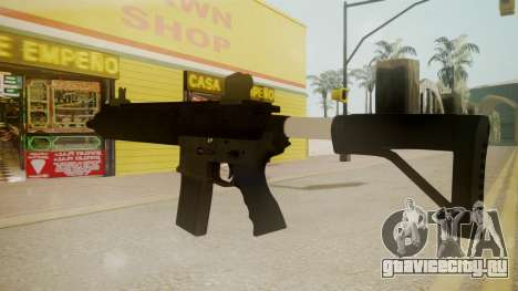 GTA 5 M4 для GTA San Andreas второй скриншот