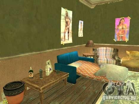 Квартира из GTA IV для GTA San Andreas четвёртый скриншот