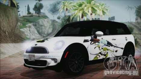 Mini Cooper Clubman 2011 Itasha для GTA San Andreas