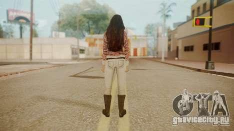 Megan Fox для GTA San Andreas третий скриншот