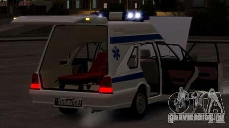 Daewoo FSO Polonez 1999 - Скорая помощь для GTA 4 вид сбоку