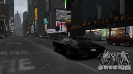 Classic Muscle Phoenix IV для GTA 4 вид сбоку