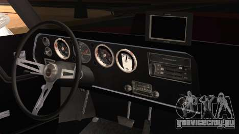 Chevrolet Chevelle Drag Car для GTA San Andreas вид справа
