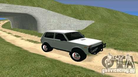 Lada Urban OFF ROAD для GTA San Andreas вид слева