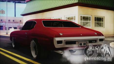 Chevrolet Chevelle Drag Car для GTA San Andreas вид слева