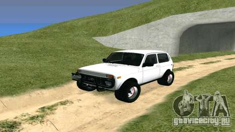 Lada Urban OFF ROAD для GTA San Andreas