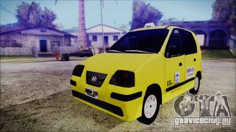 Hyundai Atos Taxi Colombiano для GTA San Andreas