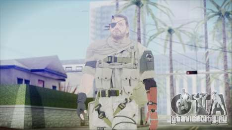 MGSV Phantom Pain Snake Scarf Desert для GTA San Andreas