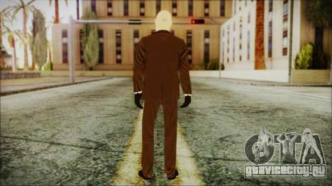Hitman Absolution Agent 47 для GTA San Andreas третий скриншот