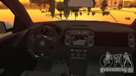 Volkswagen Tiguan Vossen Edition для GTA San Andreas вид справа