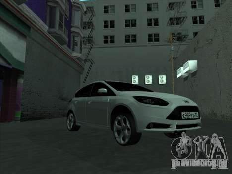 Ford Focus ST Усатый для GTA San Andreas вид изнутри