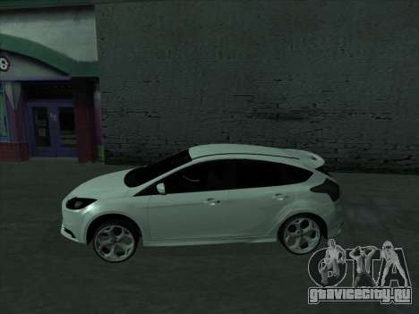 Ford Focus ST Усатый для GTA San Andreas вид слева
