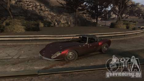 GTA V Stinger Classic для GTA 4 вид сбоку