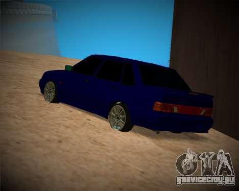 Ваз-2115 для GTA San Andreas вид сверху