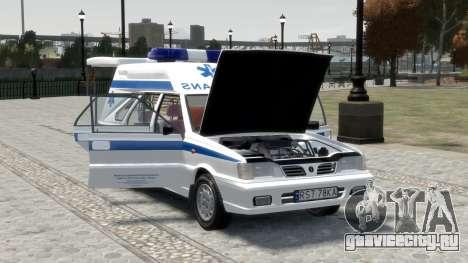 Daewoo FSO Polonez 1999 - Скорая помощь для GTA 4 двигатель