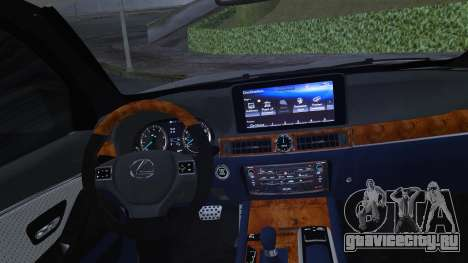 Lexus LX570 2016 для GTA San Andreas вид сбоку