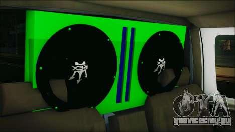 Ford F-150 Con Sonido для GTA San Andreas вид сзади