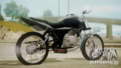 Honda Titan CG150 Stunt для GTA San Andreas вид слева