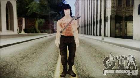 Rambo Skin для GTA San Andreas второй скриншот