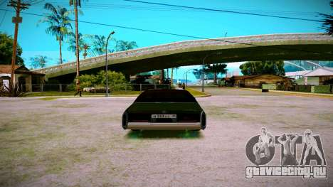 Cadillac Fleetwood Brouhman 1985 для GTA San Andreas вид справа