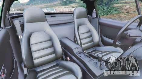 Mazda Miata MX-5 для GTA 5 вид справа