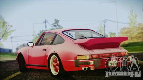 Porsche 911 Turbo 3.3 Coupe (930) 1986 для GTA San Andreas вид слева