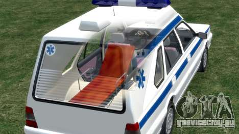 Daewoo FSO Polonez 1999 - Скорая помощь для GTA 4 колёса