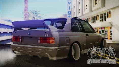 BMW M3 E30 Camber для GTA San Andreas вид слева