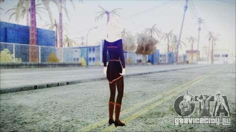 Elsa Black Outfit для GTA San Andreas третий скриншот