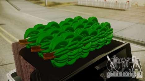 Jeep Willys Cafetero для GTA San Andreas вид справа