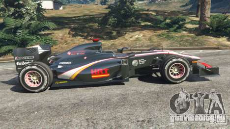 Hispania F110 (HRT F110) v1.1 для GTA 5 вид слева