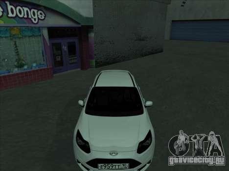 Ford Focus ST Усатый для GTA San Andreas вид сбоку