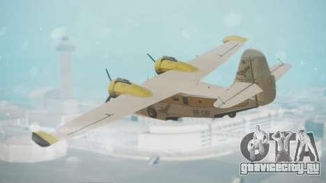 Grumman G-21 Goose WhiteYellow для GTA San Andreas вид слева