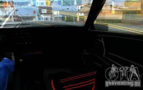 Ваз 2108 V1 для GTA San Andreas вид сверху