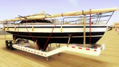 GTA V Big Boat Trailer