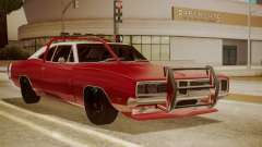Dodge Charger O Death RT 1969 для GTA San Andreas