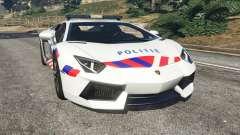 Lamborghini Aventador LP700-4 Dutch Police v5.5