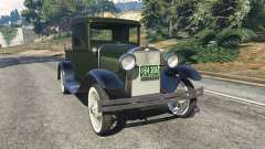 Ford Model A Pick-up 1930 для GTA 5
