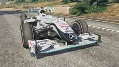 Mercedes-Benz MGP W01 [Михаэль Шумахер] v1.1