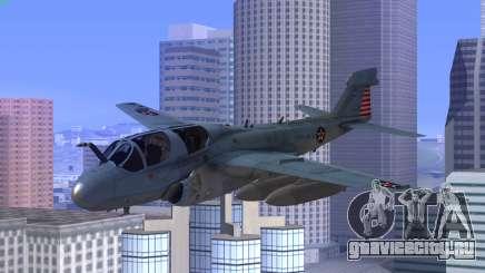 Northrop Grumman EA-6B Prowler VAQ-129 для GTA San Andreas