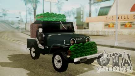 Jeep Willys Cafetero для GTA San Andreas