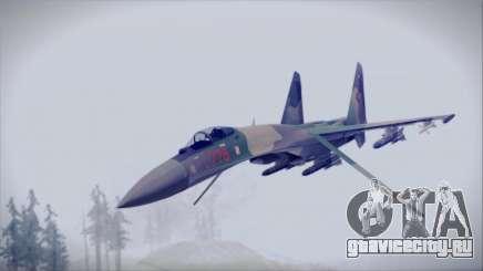 Sukhoi SU-35S East German Air Force для GTA San Andreas