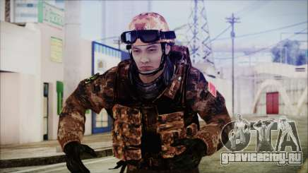Chinese Army Desert Camo 2 для GTA San Andreas