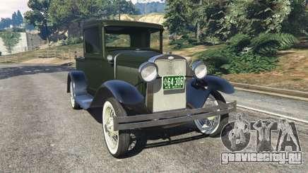 Ford Model A Pick-up 1930 для GTA 5