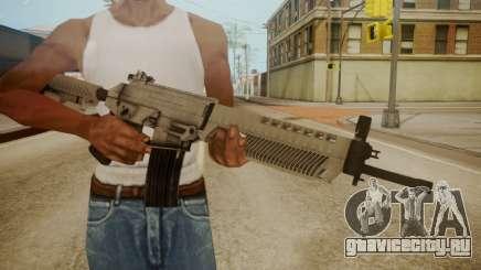 SIG-556 Patrol Rifle White для GTA San Andreas
