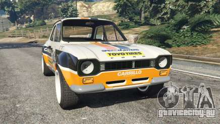 Ford Escort MK1 v1.1 [Carrillo] для GTA 5